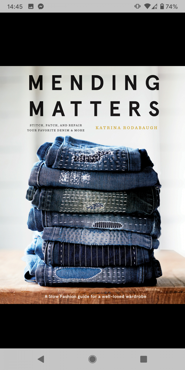 Mending Matters (A Grannies and Rows Book Review)